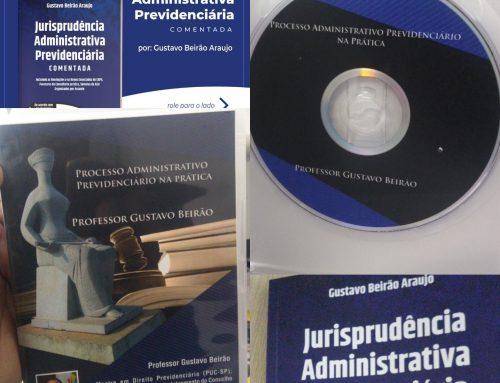"""Combo PAP – Livro """"Jurisprudência Administrativa Previdenciária comentada""""+DVD Processo Administrativo Previdenciário na prática"""