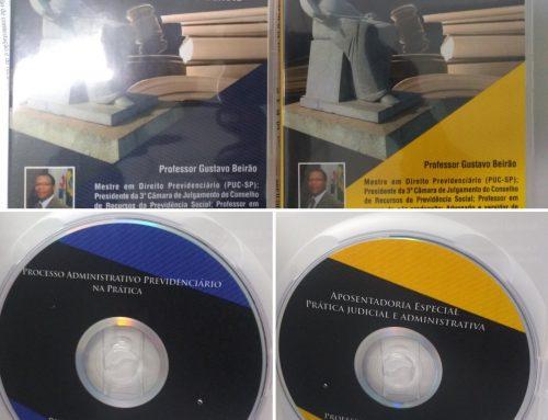 Combo DVD's – DVD Aposentadoria Especial – Prática Judicial e Administrativa + DVD Processo Administrativo Previdenciário na Prática